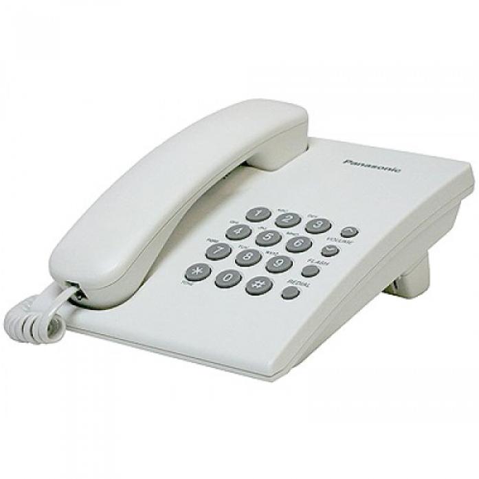 Телефон PANASONIC KX-TS 2350RUW.