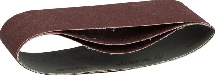 "Лента шлифовальная ЗУБР ""МАСТЕР"" 3 шт. (75х533 мм; P60) для ЛШМ, 35542-060"
