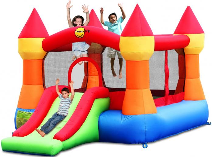 Батут Happy Hop надувной Супер прыжок 9017N