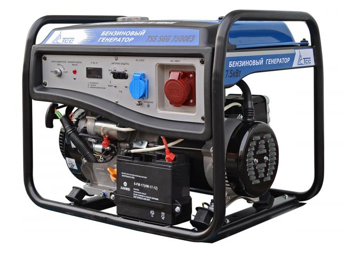 Бензиновый генератор ТСС TSS-SGG-7500Е3
