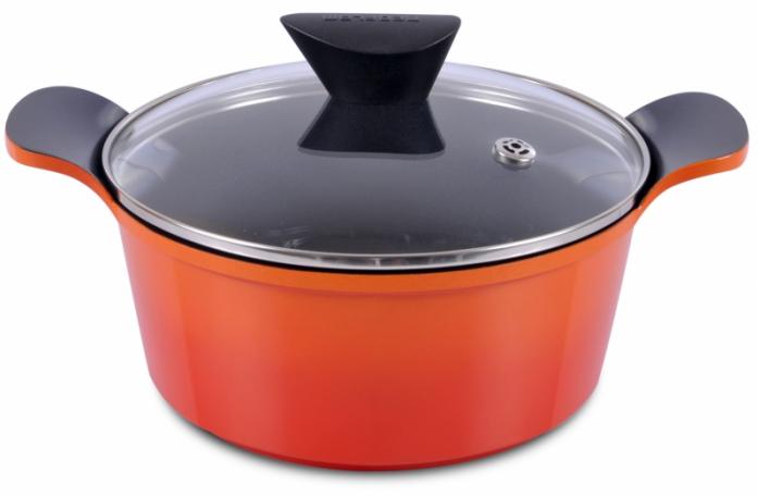 Кастрюля Frybest ORCV-C 24 Orange