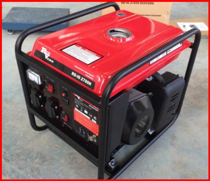 Бензиновый генератор RedVerg RD-IG2700H