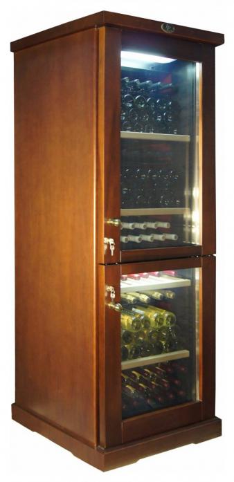 Винный шкаф IP Industrie CEX 601 RU (цвет - дуб)