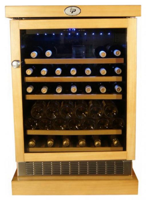 Винный шкаф IP Industrie CEXP 45-6 RU (цвет - дуб)