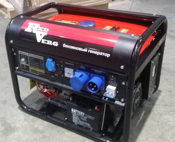 Бензиновый генератор RedVerg RD-G8000ENA