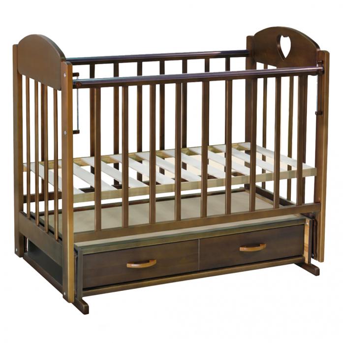 Кровать Ведрусс Таисия-3 темный орех