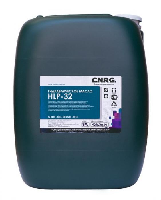 Масло гидравлическое C. N. R. G. Terran indoor HLP 32 (20л)