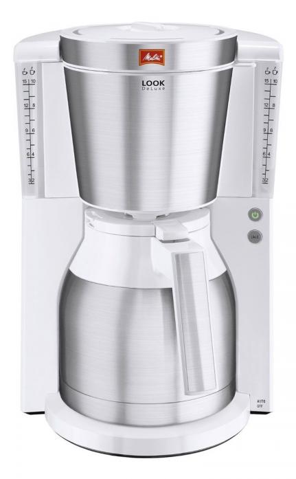 Капельная кофеварка Melitta Look IV Therm DeLuxe 21265, White