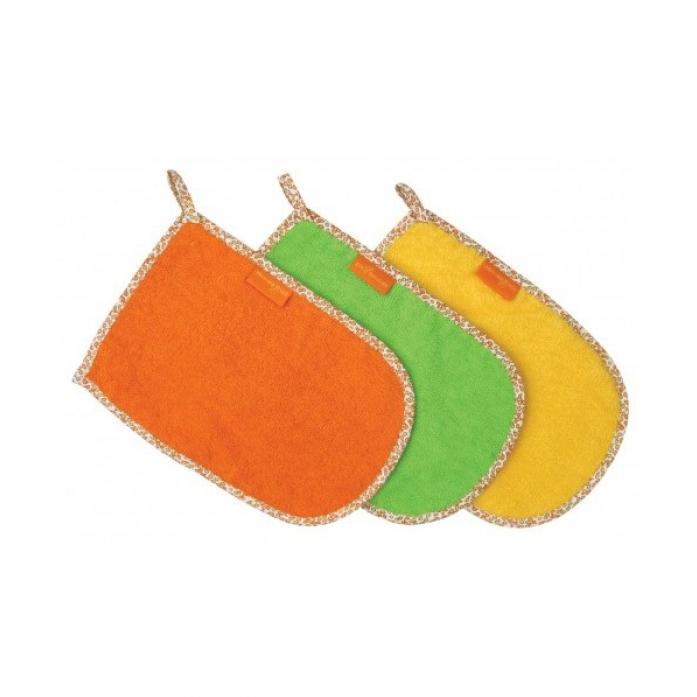 Мочалка-варежка Мир Детства 100% хлопок 40502