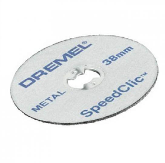 Круг отрезной по металлу Dremel SpeedClic 5шт (456) 2615S456JC