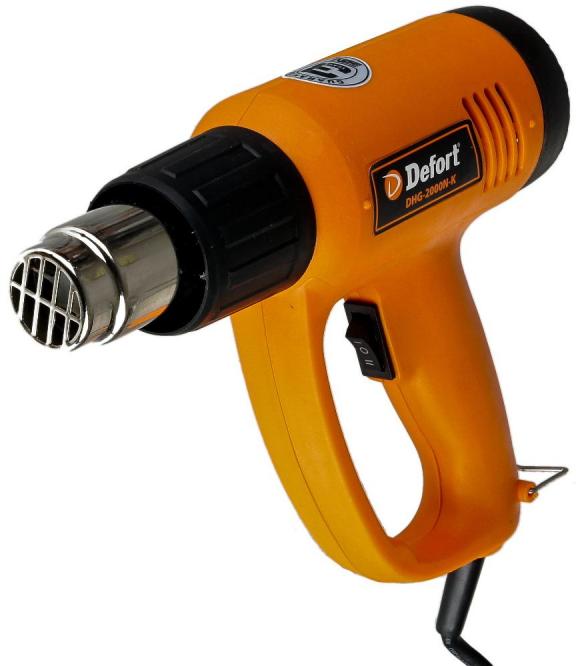 Фен технический DEFORT DHG-2000N-K 93720490