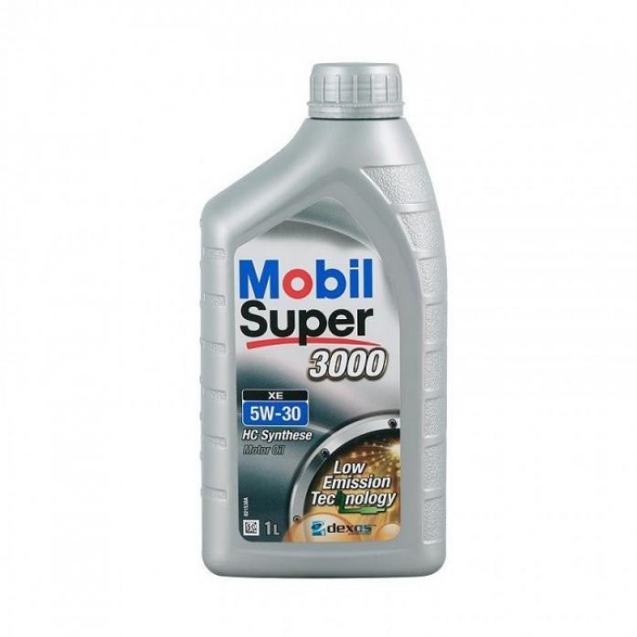 Масло моторное Mobil Super 3000 XE 5W30 син (1л) 152574