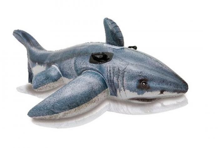 Надувная Акула Intex 173х107 см 57525NP