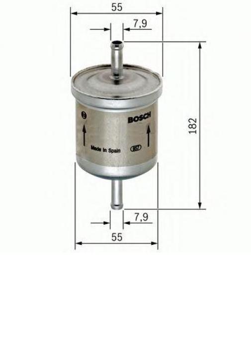 Фильтр топливный Bosch F026403009 MAZDA 3/VOLVO C30/S40/V50/FORD FOCUS