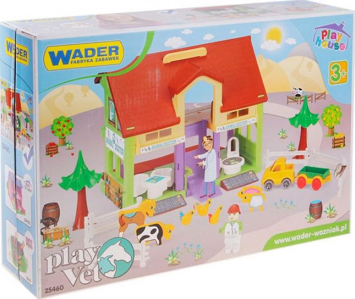 Игрушка WADER Домик ветеринар 25460