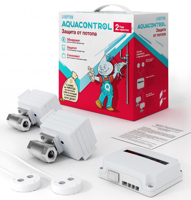 Система защиты от протечек воды Neptun Aquacontrol 1/2