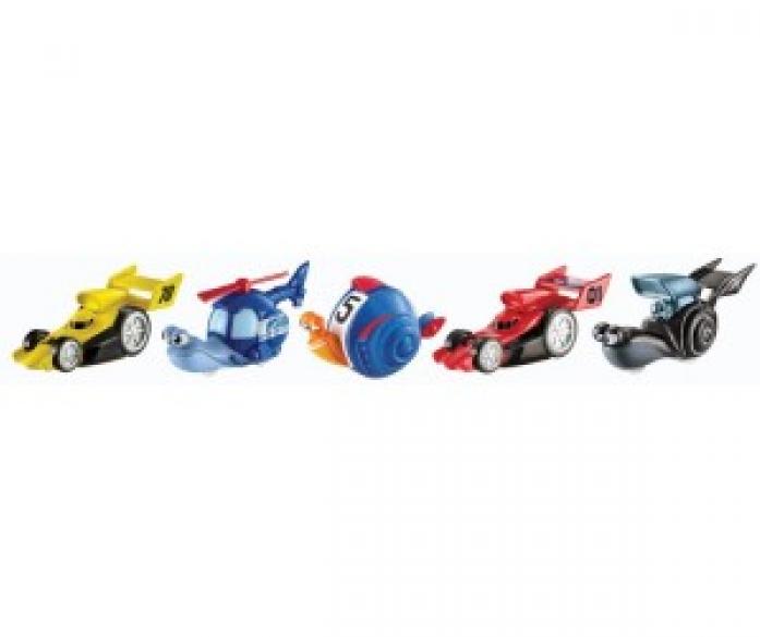 Набор из 5-ти улиток Mattel Turbo Dreamworks 5789Y/Y5790