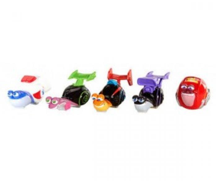 Набор из 5-ти улиток Mattel Turbo Dreamworks 5789Y/Y5792