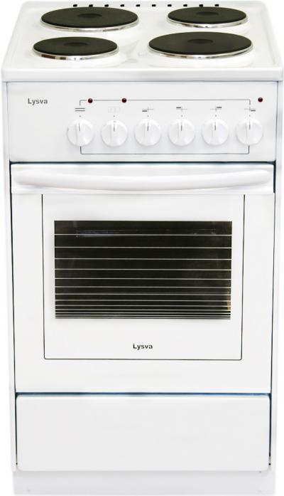 Электрическая плита Лысьва ЭП 403 белая без крышки
