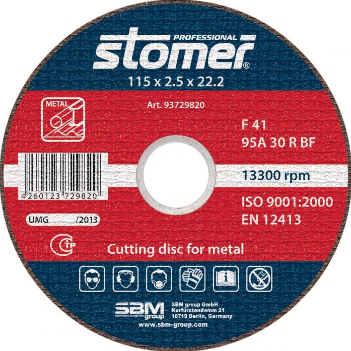 Диск отрезной STOMER CD-115 93729820