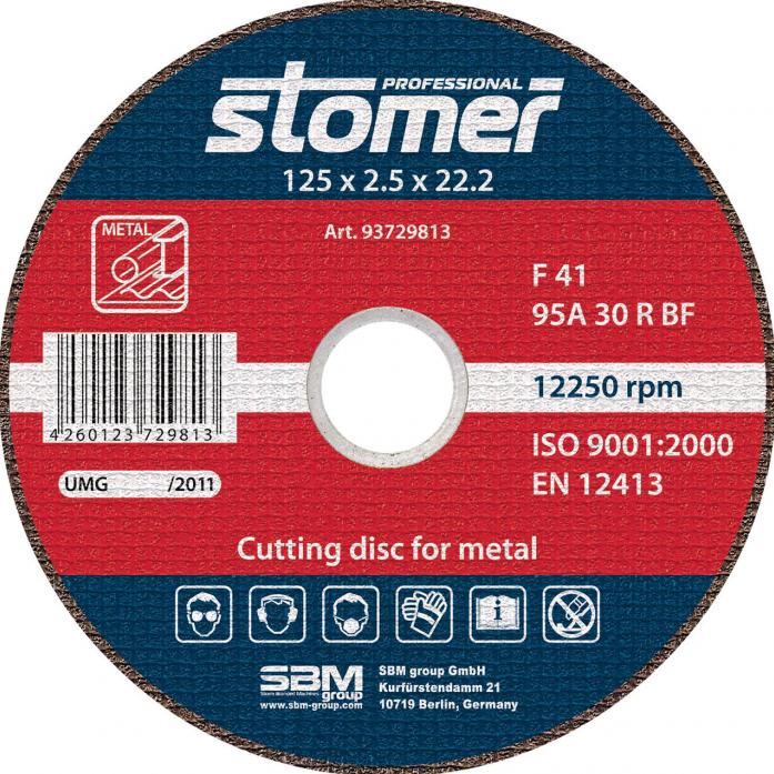 Диск отрезной STOMER CD-125 93729813