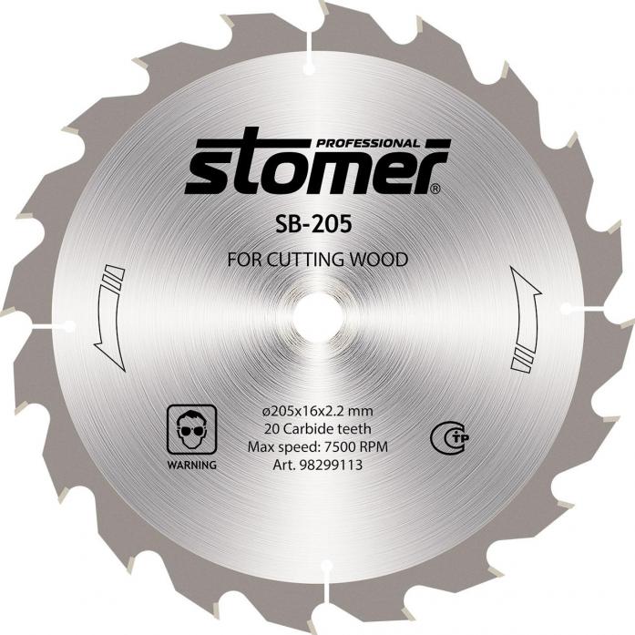 Диск пильный STOMER SB-205 98299113