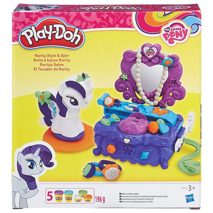 Игровой набор Play-Doh Туалетный столик Рарити B3400