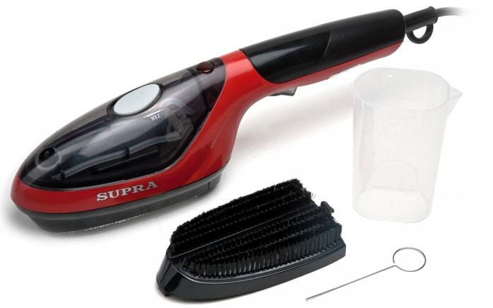 Ручной пароочиститель Supra SBS-103 black/red
