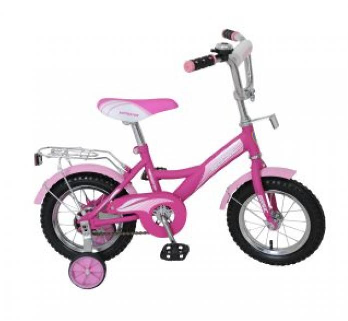 """Велосипед двухколесный Navigator 12"""" Basic Kite-тип ВН12088 фиолетово/розовый"""