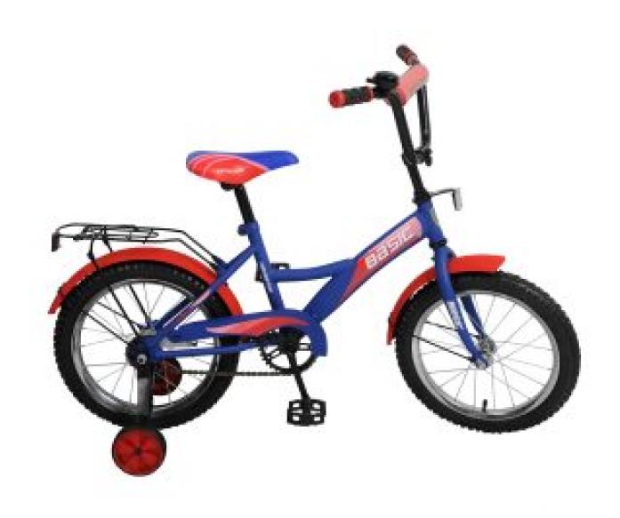 """Велосипед Navigator 16"""" Basic Kite-тип сине/красный"""