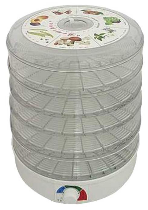 Сушилка для овощей Ветерок ЭСОФ-0.5/220 5 поддонов прозрачный