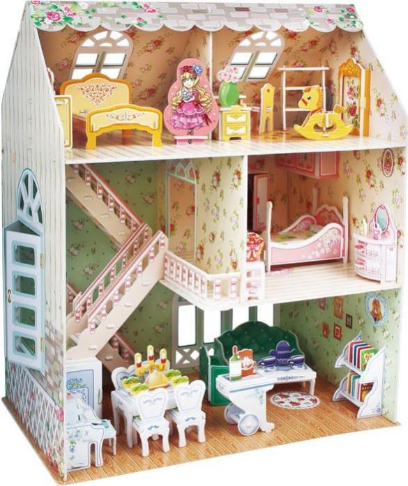 3D-пазл CubicFun Дом мечты P645h