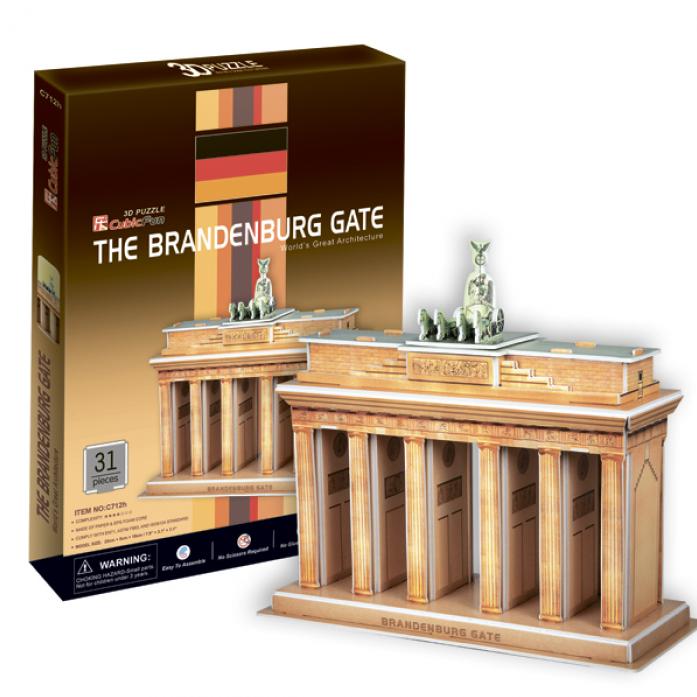 3D-пазл CubicFun Бранденбургские ворота (Германия)C712h
