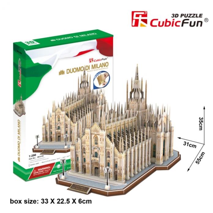 3D-пазл CubicFun Миланский Собор (Италия)MC210h