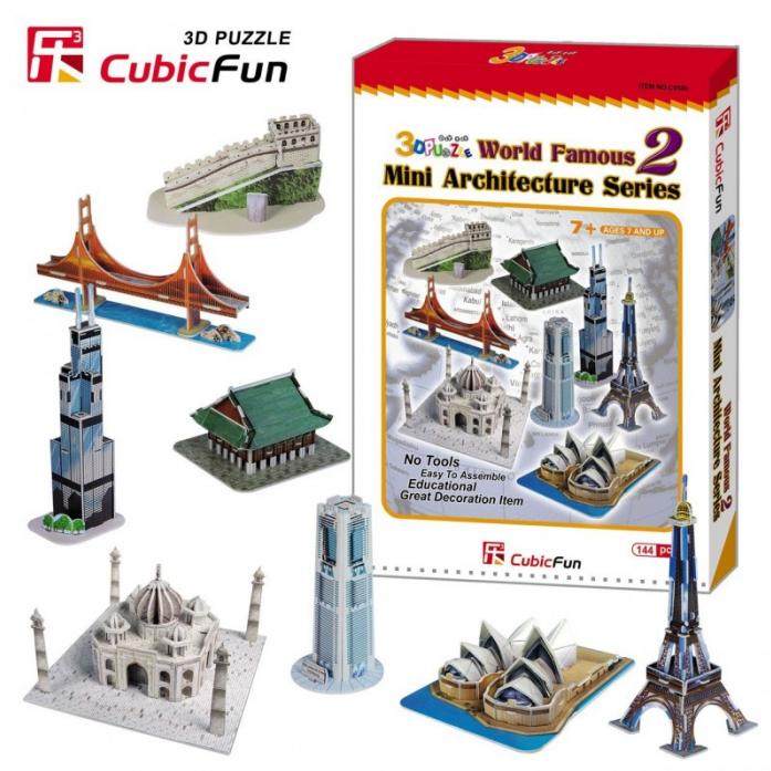 3D-пазл CubicFun Набор архитектора (8 в 1) C058h