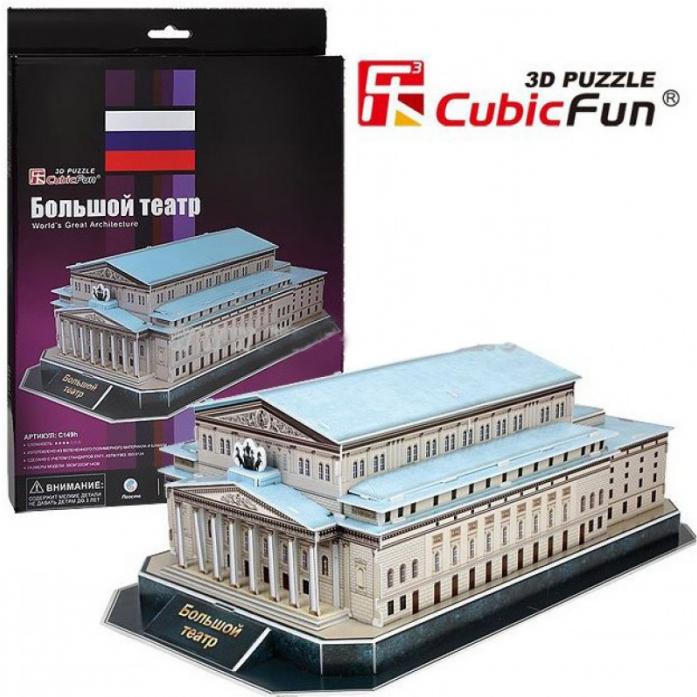 3D-пазл CubicFun Большой театр (Россия) C149h
