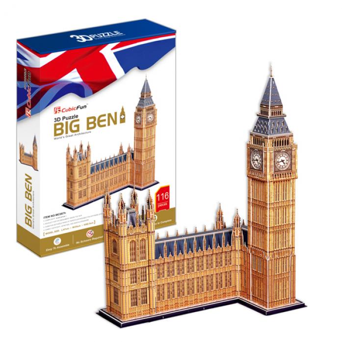 3D-пазл CubicFun Биг Бен (Великобритания) MC087h