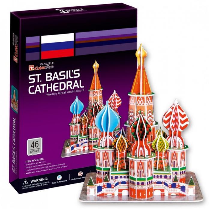 3D-пазл CubicFun Собор Василия Блаженного (Россия) C707h
