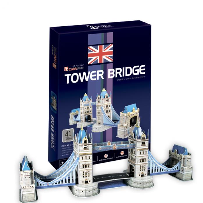 3D-пазл CubicFun Тауэрский мост(Великобритания) C702h