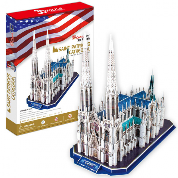 3D-пазл CubicFun Собор Святого Патрика (США) MC103h