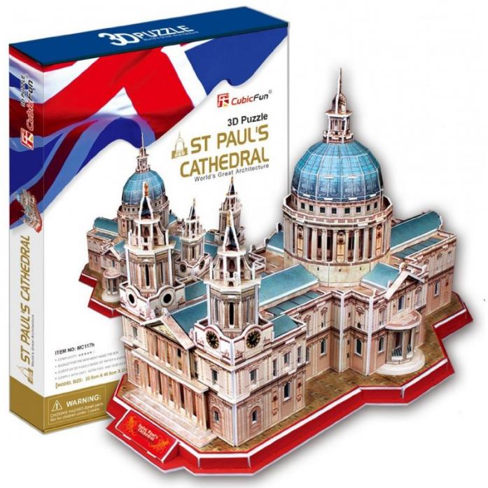 3D-пазл CubicFun Собор Святого Павла (Великобритания) MC117h