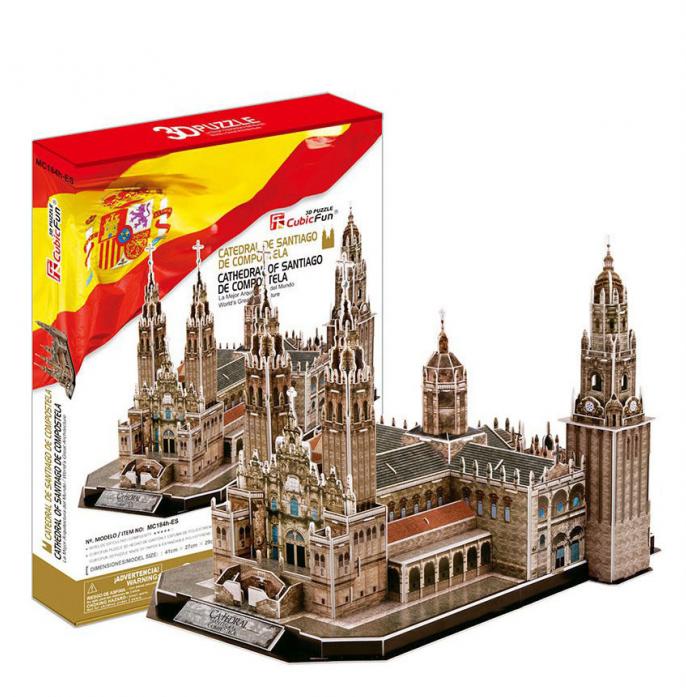 3D-пазл CubicFun Собор Святого Иакова (Испания) MC184h