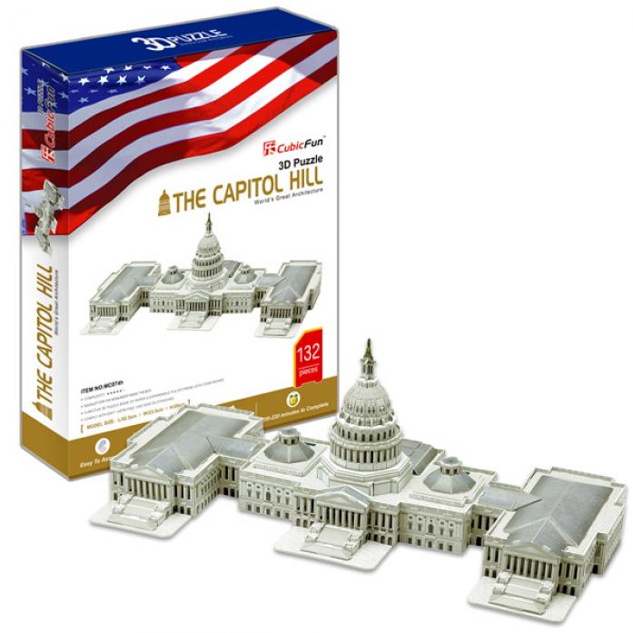 3D-пазл CubicFun Капитолий (США)MC074h