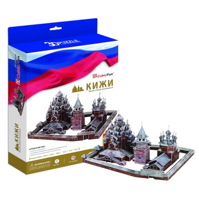 3D-пазл CubicFun Кижи (Россия) MC163h