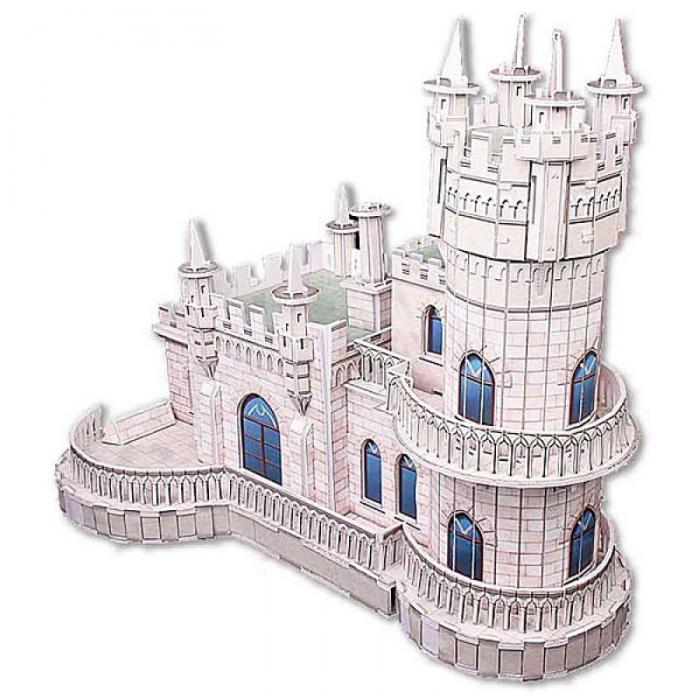 3D-пазл CubicFun Ласточкино гнездо (Россия) MC129h