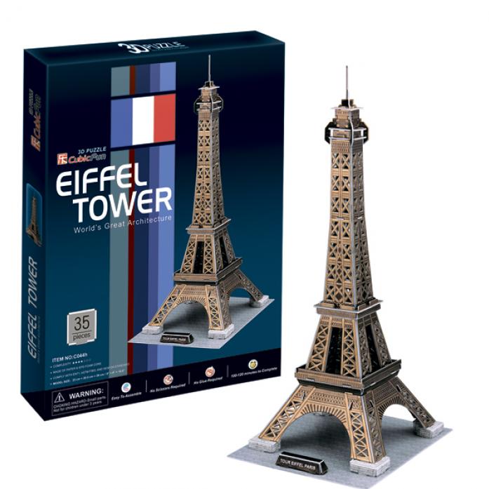 3D-пазл CubicFun Эйфелева Башня (Франция) C044h
