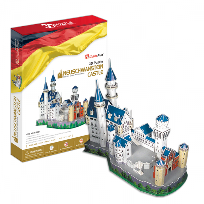 3D-пазл CubicFun Замок Нойшванштайн (Германия) MC062h