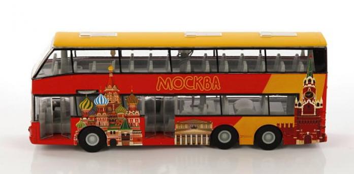 Игрушка двухэтажный автобус купить