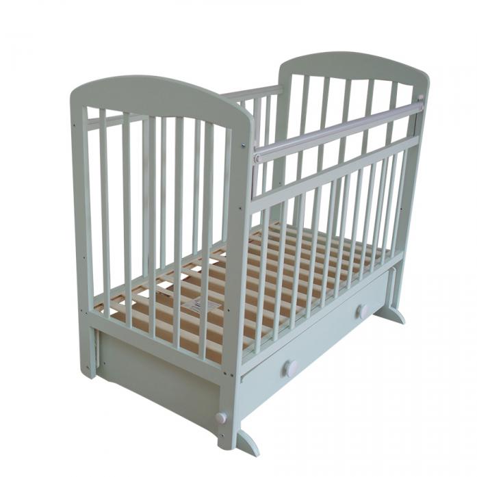 Кровать Ивашка Мой малыш 8 фисташковый