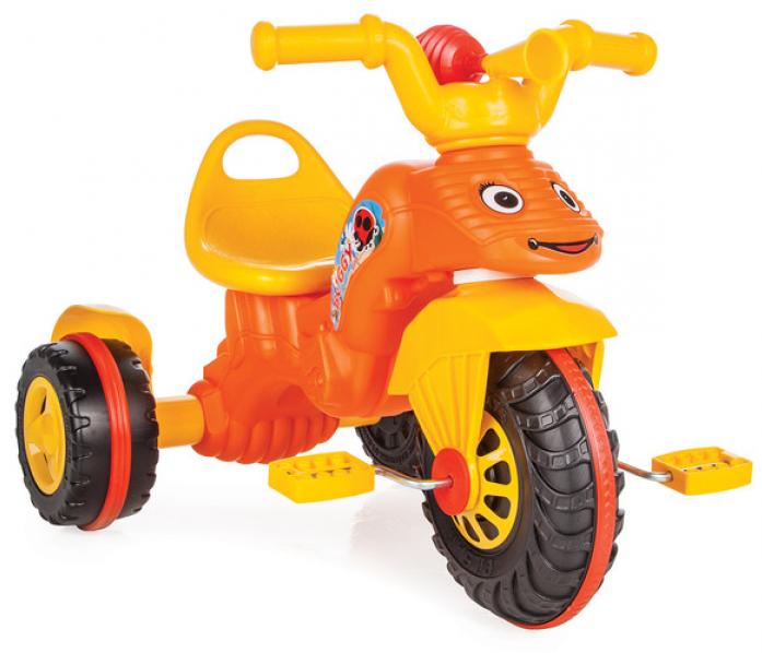 Велосипед Pilsan с клаксоном оранжевый 07163